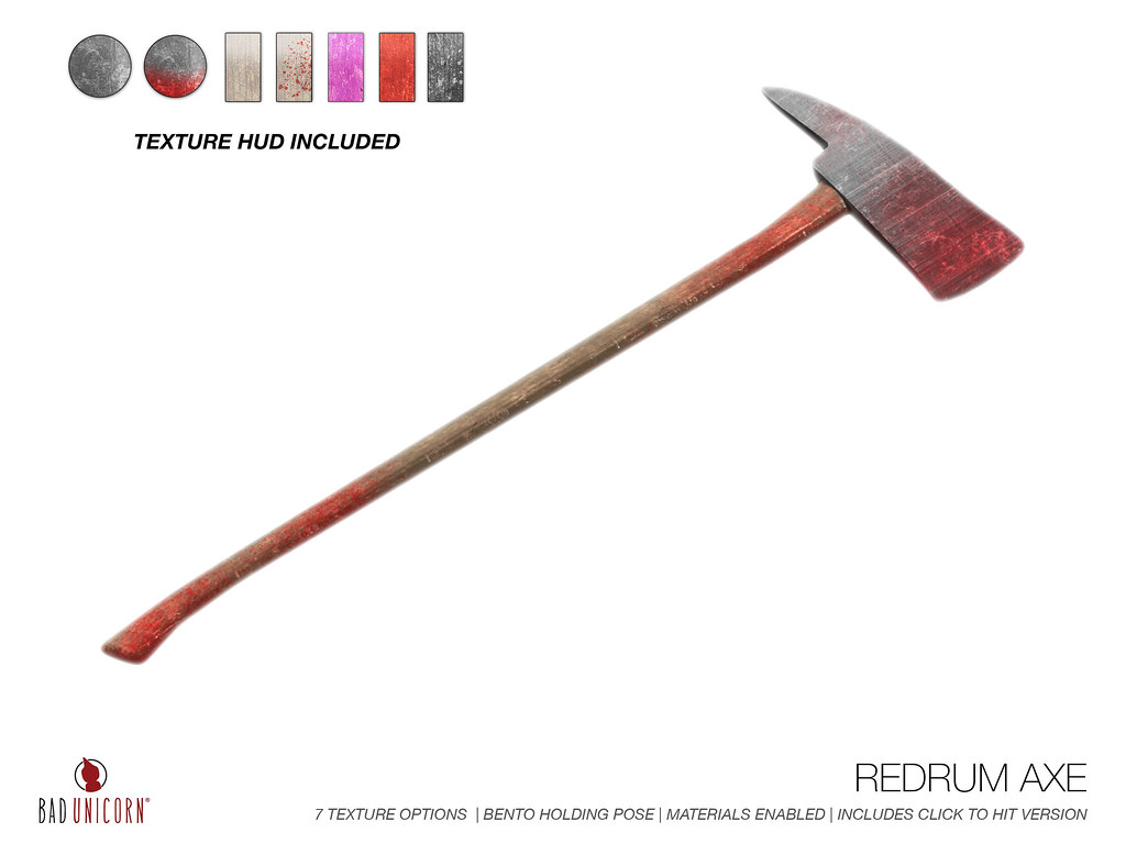 NEW! Red Rum Axe @ Salem 2017