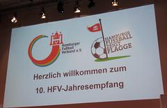 10. Jahresempfang des Hamburger Fußball Verbandes im September 2017