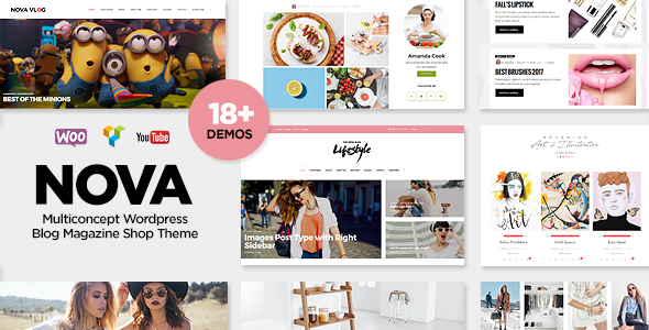 NovaBlog v1.5 – Multi-Concept Blog / Magazine WordPress Theme