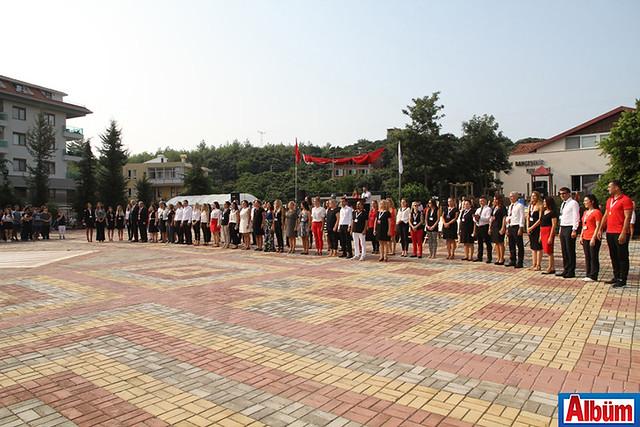 Bahçeşehir'den görkemli tören-4