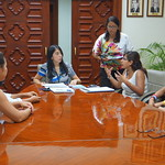 Política PUEDO - Reunión Viceministra con estudiantes