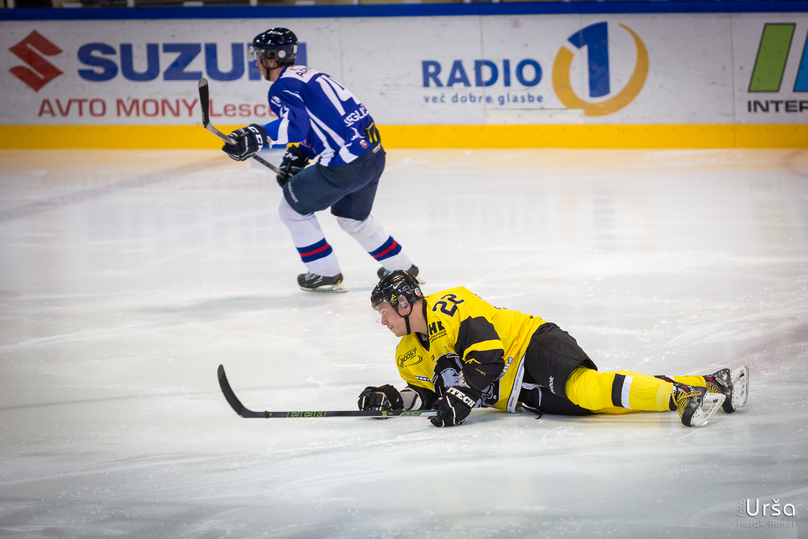 Tekma IHL 2017 HKMK Bled vs KHL Mladost