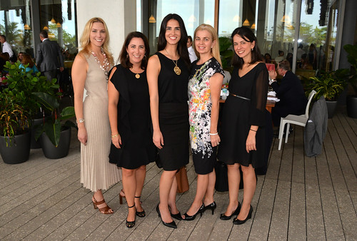 Allison Goldberg, Aneles Alvarez, Patti Hanna, Erica Guzman, and Rhonda Rebman-Lopez