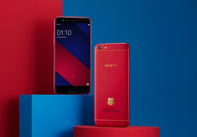 How to WIN an OPPO F3 FC Barcelona Limited Edition Smartphone