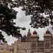 Mysore palace monsoon
