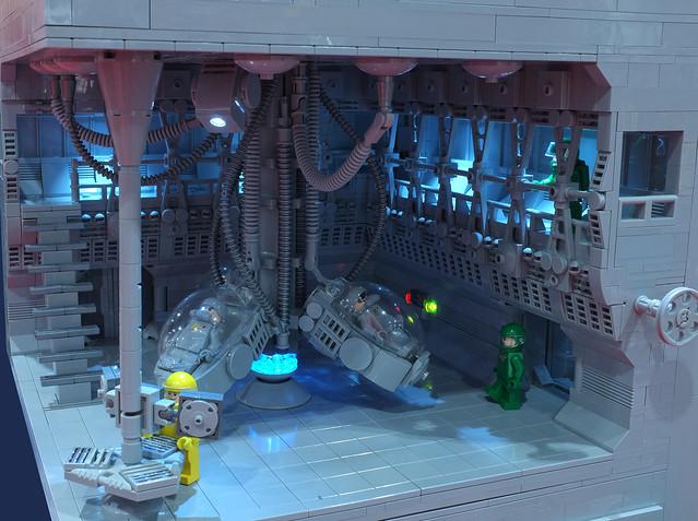 Neural Uplink Lab by Alec Hole