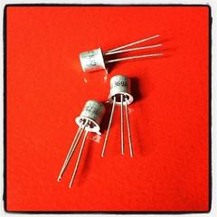 2N2369A transistors.