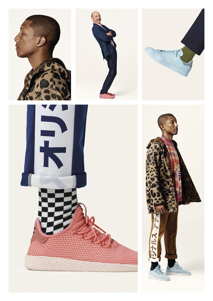 adidas Originals x PHARRELL WILLIAMS x STAN SMITH形象照-4