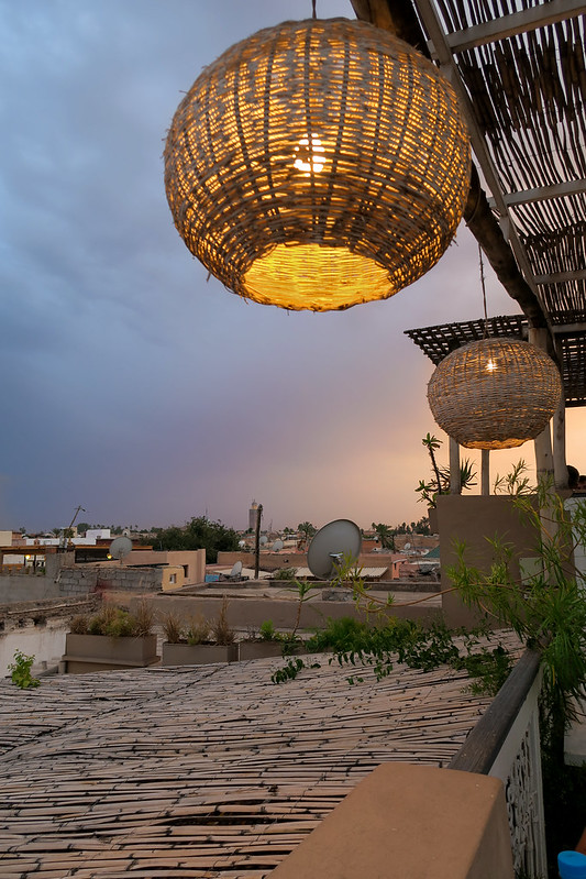 Wanderlust Us Travel Blog - Sunset Dining At Atay Cafe