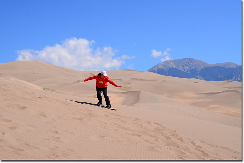 Sledding at Great Sand Dunes  (34)