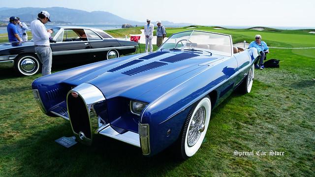1965 Bugatti Type 101C Virgil Exner Ghia Roadster