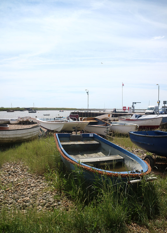 Boats in Orford