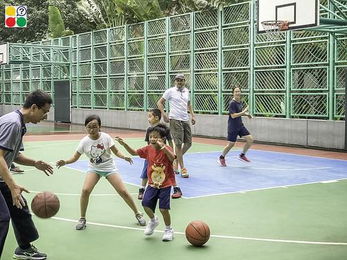 Basketball class in Ma On Shan HK