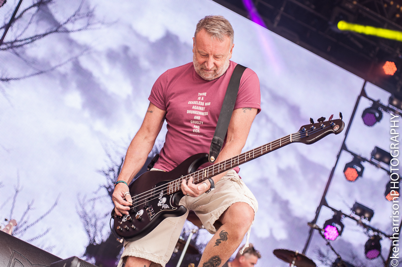 05th August, 2017. Peter Hook & The Light at Rewind North, Macclesfield, UK