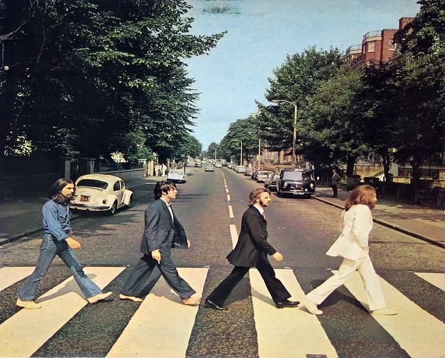 Beatles Abbey Road (Italy)