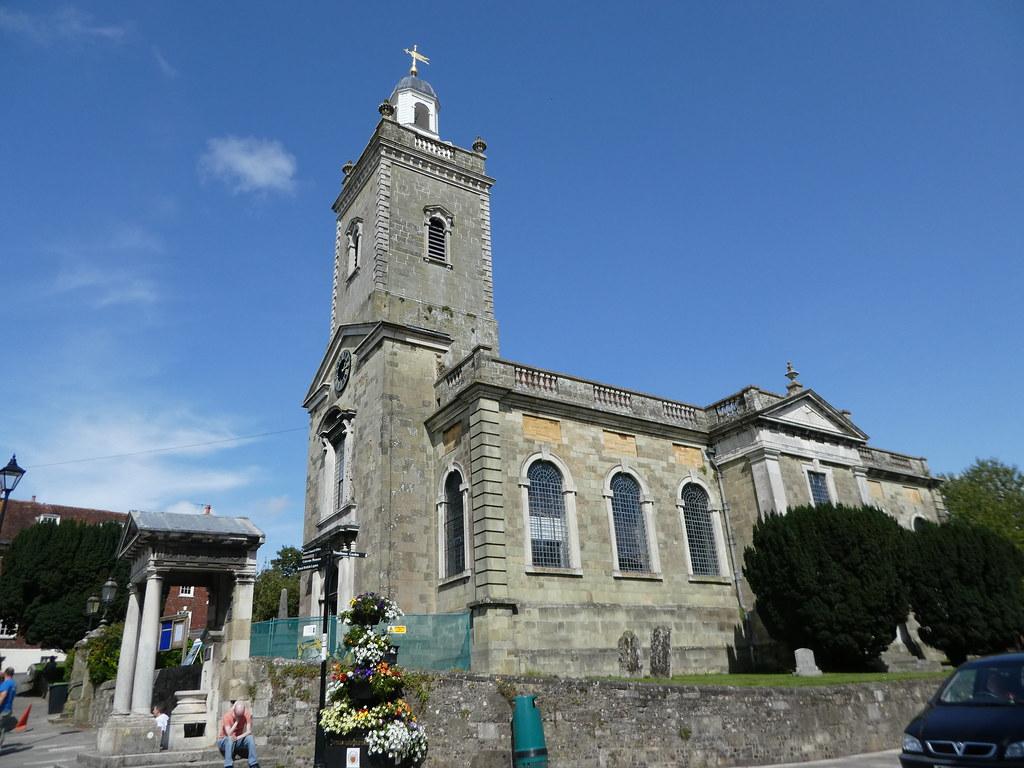 The parish church, Blandford Forum