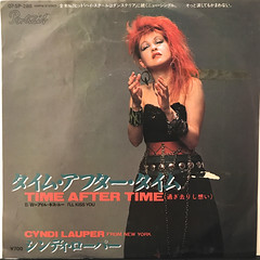 CYNDI LAUPER:TIME AFTER TIME(JACKET A)