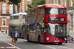 Wrightbus NRM NBFL - LTZ 1223 - LT223 - Victoria 38 - Arriva - London 2017 - Steven Gray - IMG_1245