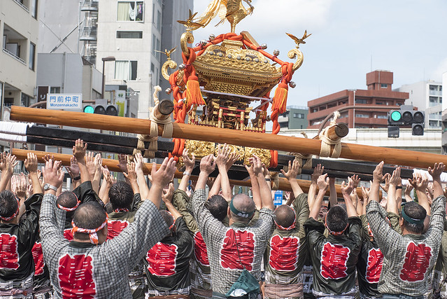 TOMIOKA HACHIMANGU SHRINE FESTIVAL