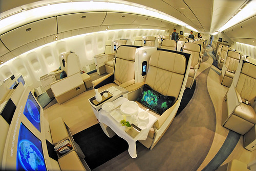 Crystal Luxury Air All First Class Cabin