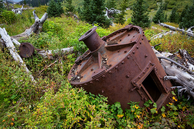 Silver Jack Mine Remains
