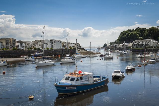 Porthmadog Harbour, Nikon D200, AF-S DX Zoom-Nikkor 18-55mm f/3.5-5.6G ED II