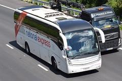FJ12FXT 339 National Express Volvo