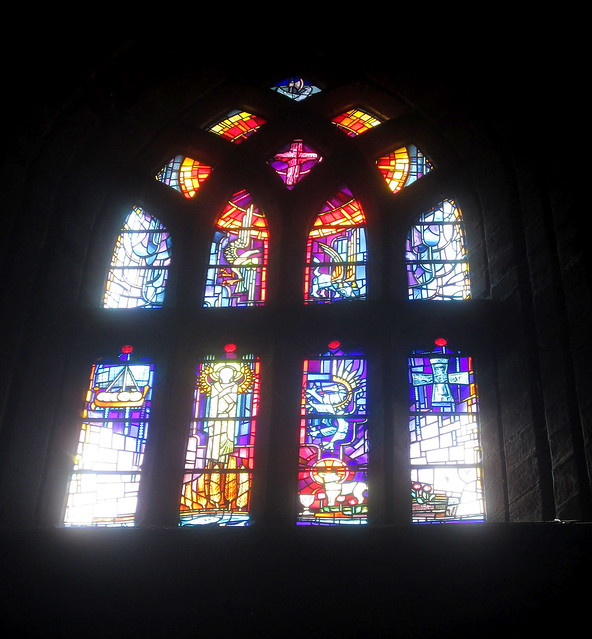 Stained Glass Window, St Magnus Cathedral, Kirkwall, Orkney