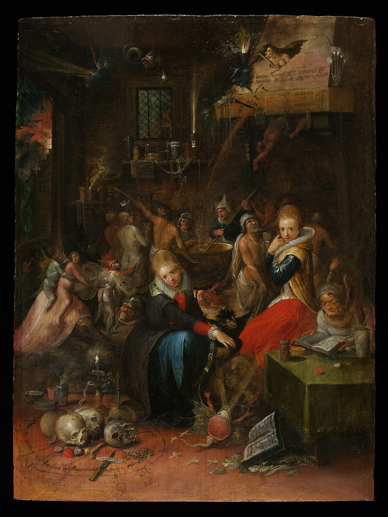 Frans Francken the Younger -  Witch's Sabbath, 1606