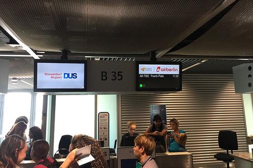 05 - Gate B35 - Flughafen Düsseldorf