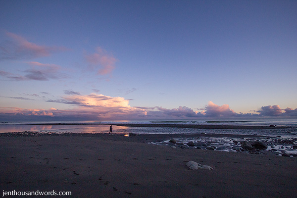 Dusk at the beach 05