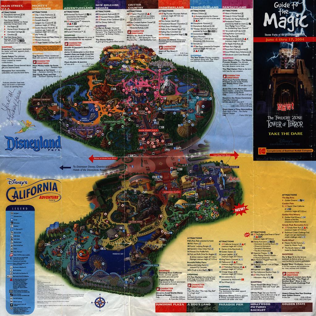 Disneyland Park Disney California Adventure Park Guide Flickr