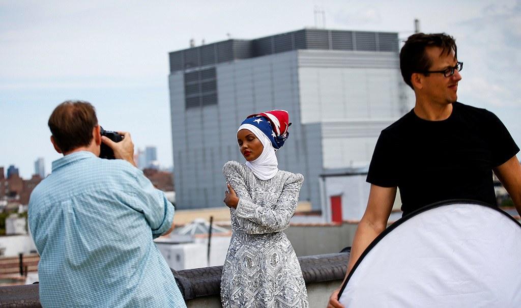 FASHION-NEW YORK/HIJAB MODEL