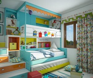 15 Amazing Kids Bedroom Ideas & Designs