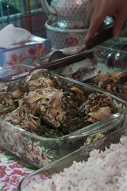8.Iban delicacies at the Bawang Assan Longhouse Village