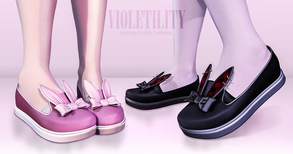 Violetility - Bun Shoes - TeleportHub.com Live!