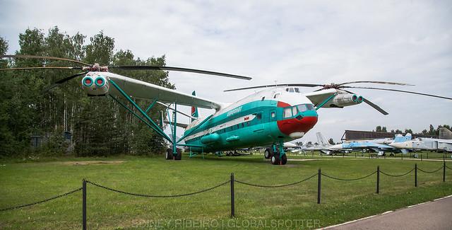 Mil Mi-12   MONINO MUSEUM   RUSSIAN