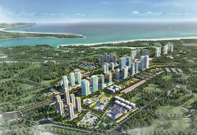 Vũng Tàu có dự án khu đô thị trị giá hơn 4.000 tỷ đồng