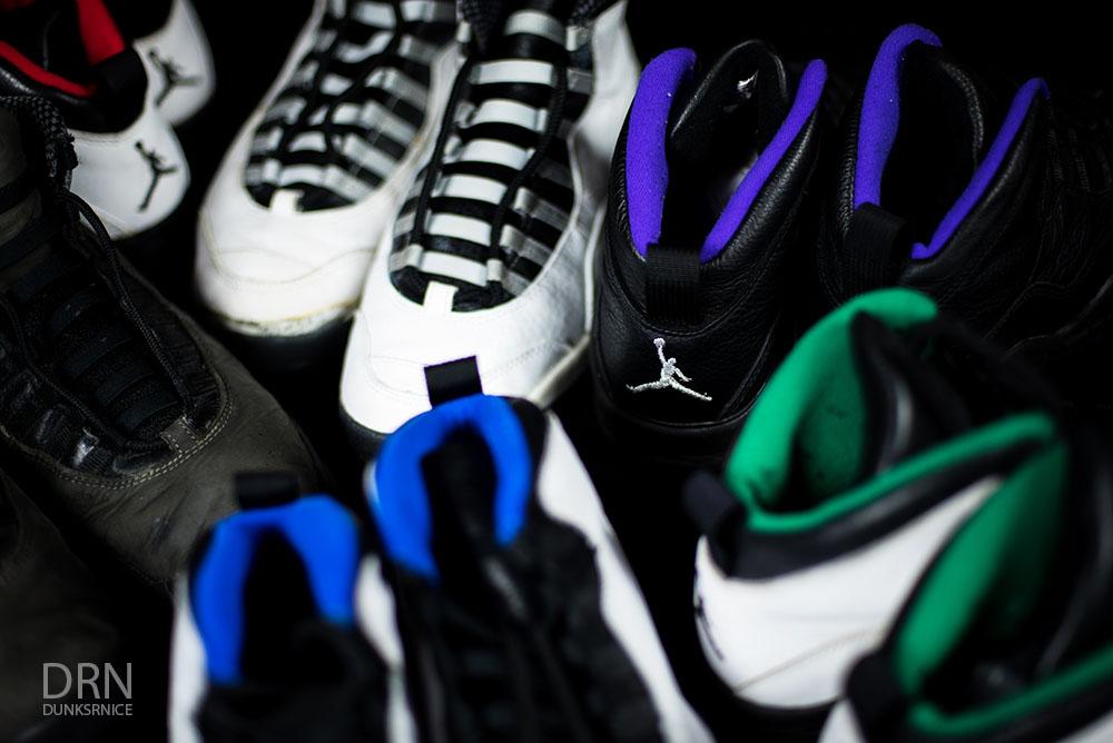 1994 & 1995 OG Jordan X's.