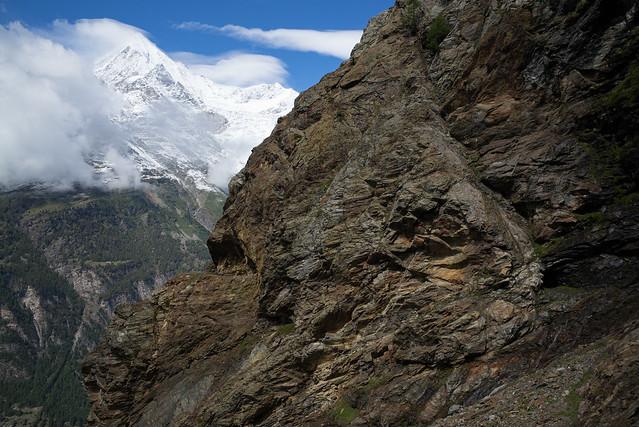 The Rock @ Europaweg Grächen-Zermatt (VS)