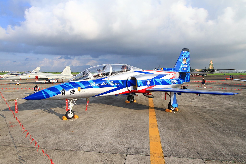 0814 Taiwan - Air Force AIDC AT-3