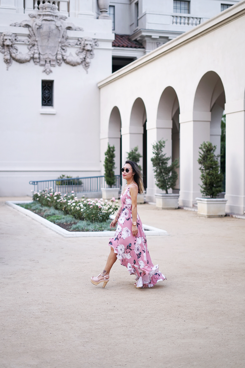 03pasadena-cityhall-floral-rose-maxi-dress-fashion-ootd