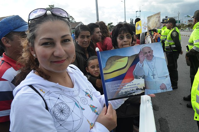 El papa Francisco en Colombia