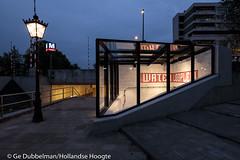 Uitgang Hortus in de nacht-4