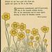 Smørbloms tegnet av Thorolf Holmboe, dikt av Magnus B. Landstad by National Library of Norway