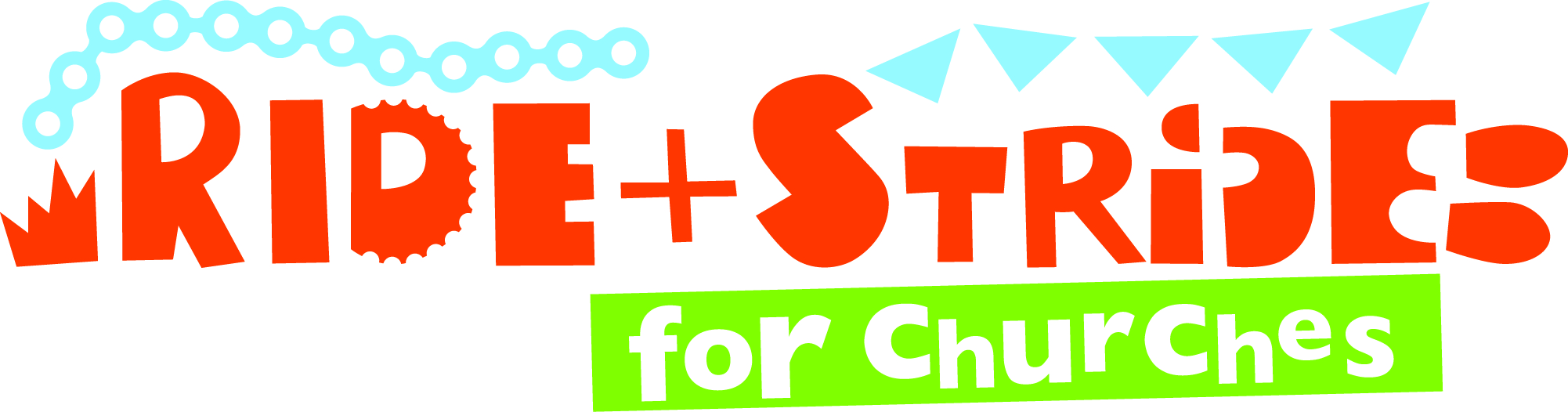 Ride+Stride for Churches - Logo