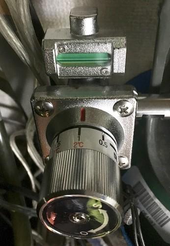 レギュレーター圧力設定