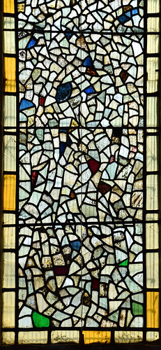 fragments of medieval glass
