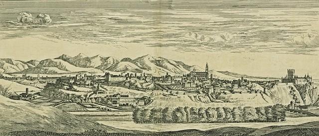 Israel Silvestre - Profil de la ville de Sigovie en Espagne.