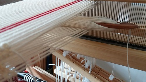 four layers on an eight shaft loom
